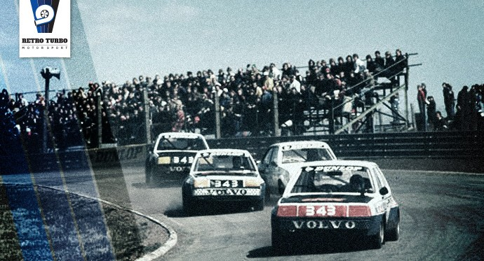The Volvo R-Team in the Swedish Championship at Kinnekulle 1980.