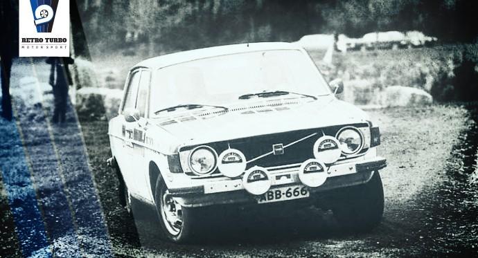 Eeva Heinonen and Co driver Seija Saaristo R.A.C. 1973 Winner of the Coupe de Dames