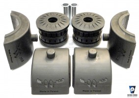 Volvo 940 740 rear suspension bushes set 1229636 1273628 1330454 1359114 3530560 1272399