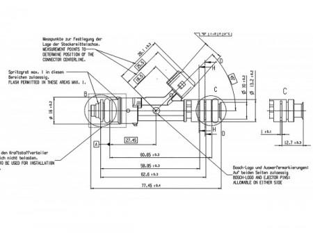 BOSH 1700cc Injector