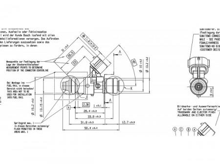 BOSH 2200cc Injector