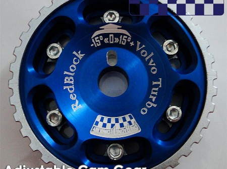 8V Adjustable cam wheel square tooth B230 B200 Volvo 240 740 940 v3