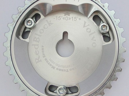 B230 Volvo 240 740 adjustable cam wheel ROUND TOOTH
