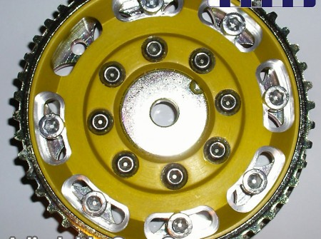 Fiat Sporting 1.1 OHC adjustable cam wheel JPG