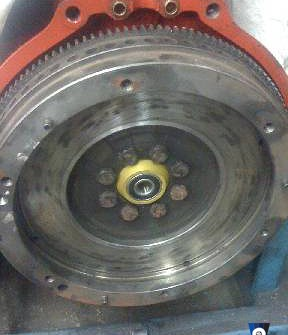 M90 box  input shaft adapter single mass flywheel B230 B200 TUrbo conversion Volvo 240 740 940