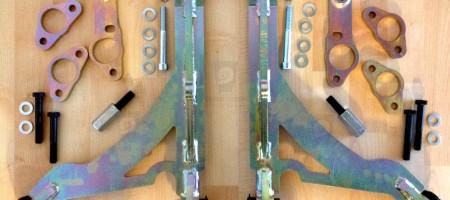 Volvo 740 940 wishbone KIT Drifting Camber Caster