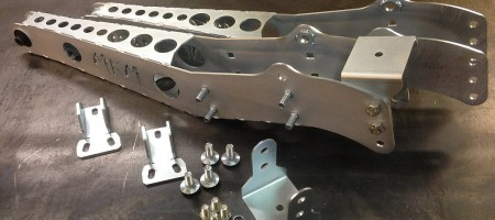 Volvo 240 242 245 reinforced lower trailing arms drift race rally