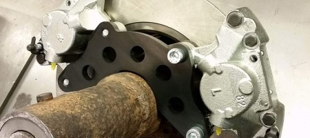 volvo 940 double caliper adapters ASS