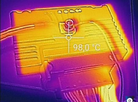 EcuMaster PMU temperature under heavy load