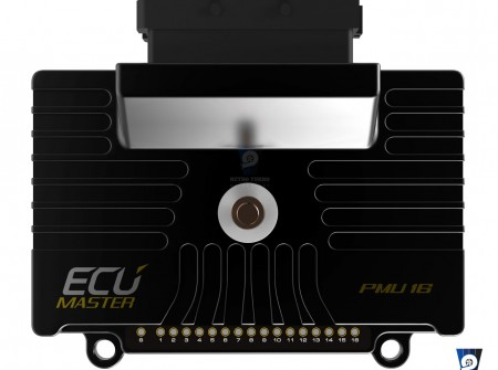 EcuMaster PMU16 Power Distribution Module Top View