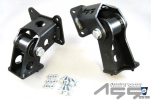 Volvo 240 solid engine mounts B230 redblock
