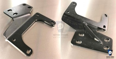 volvo 740 940 hydraulic handbrake lever bracket