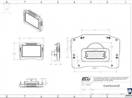 Ecumaster ADU5 wymiary CAD