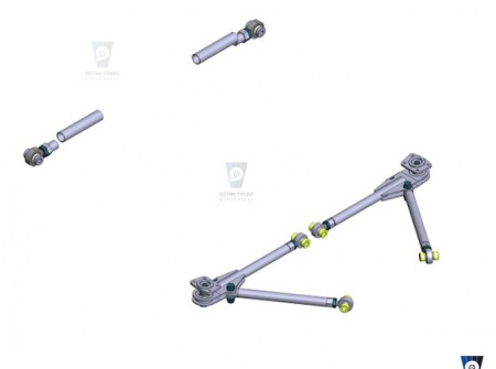 volvo 240 242 front adjustable control arms