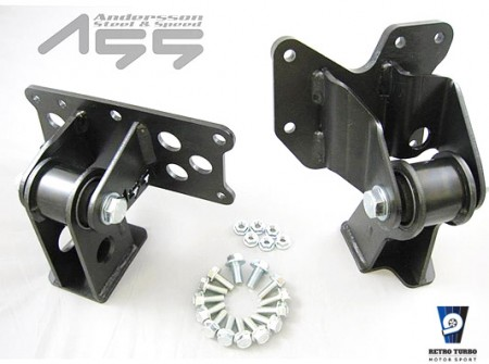 Volvo 240 5/6 cyl whiteblock solid engine mounts standard slant AS-001002-01