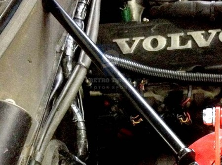Volvo 240 242 GT Chassis firewall brace