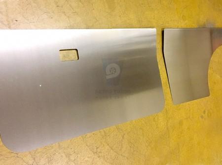 Volvo 242 motorsport aluminium door panel KIT front and rear