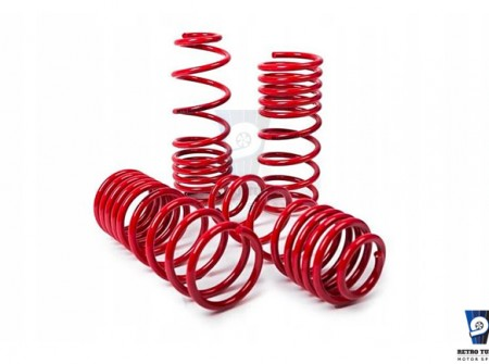 volvo 240 242 lowering springs 60 40, Sänkningssats volvo 245, Sprężyny obniżające Volvo 240