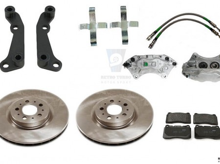Volvo 940 740 S60R Affordable Big Brake Adapter KIT 330 mm rotor