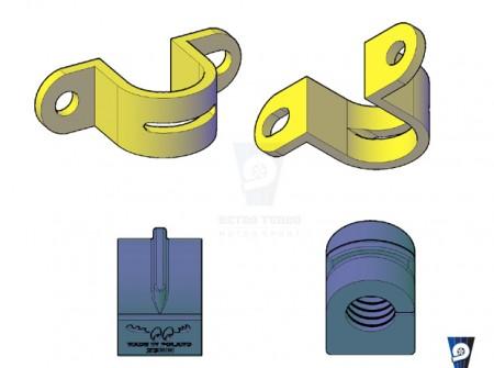 volvo 850 v70 v70 ARB bush and bracket lightweight billet Volvo OE 6800334  Volvo OE 3546730