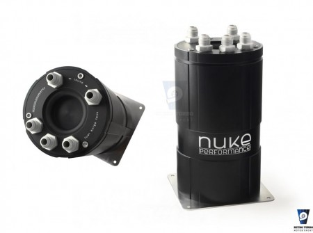 NUKE FUEL SURGE TANK FOR BOSCH 044 EXTERNAL PUMPS NK150-01-200 retroturbo motorsport